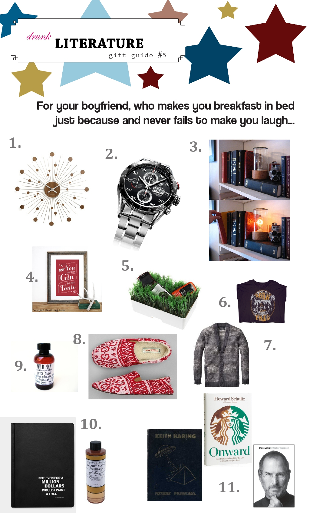 Gift guide bf for Gifts for your boyfriend just because